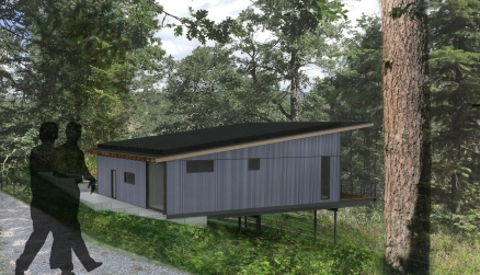 Mosier Cargo Container Residence